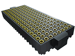 YFS - 1.27 mm SamArray® Low Profile Open-Pin-Field Array Socket