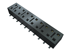 "HLE - 2.54 mm Tiger Beamâ""¢ Cost-effective Single Beam Socket Strip"