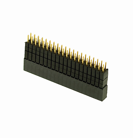 32 Contacts 2.54 mm Pack of 10 Board-To-Board Connector HW Series Surface Mount HW-16-08-L-D-250-SM Header 2 Rows,