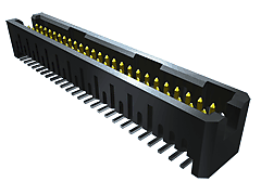 "TFML - 1.27 mm Tiger Eyeâ""¢ High-Reliability Locking Terminal Strip / Header"