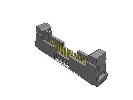 "FTSH-113-01-L-DV-K Samtec SMT Micro Header 26 Pos Dual Row 1.27mm .050/"" NOS"