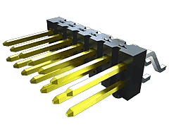 TSM-DH - 2.54 mm Horizontal Dual Row Surface Mount Terminal Strip / Header