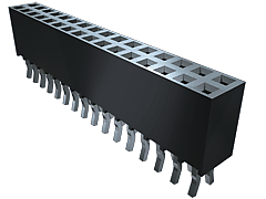 "SSQ - 2.54 mm Tiger Buyâ""¢ Socket Strip, Square Tail"