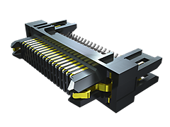 0.80 mm Edge Rate® Rugged High-Speed Terminal Strip, Edge Mount