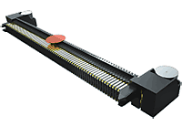 0.80 mm Edge Rate® Rugged High-Speed Terminal Strip, Right-Angle